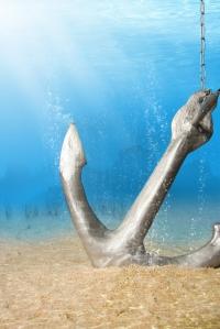 anchor sand shutterstock_49840897