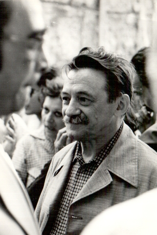 Mario Benedetti. Photo from family album. Courtesy of the Fundación M. Benedetti  © Fundación M. Benedetti.
