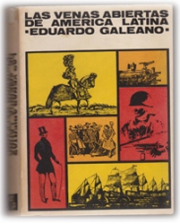 Cover of the first edition of Las venas abiertas de América Latina'