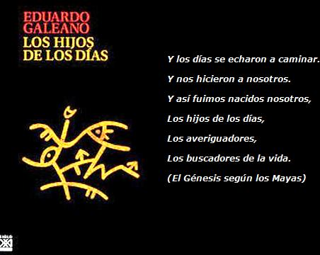 Cover of the book Los hijos de los días, The Sons of the Days.