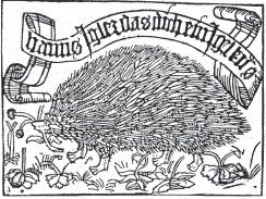 First printed ex libris of Hanns Igler Knabensberge