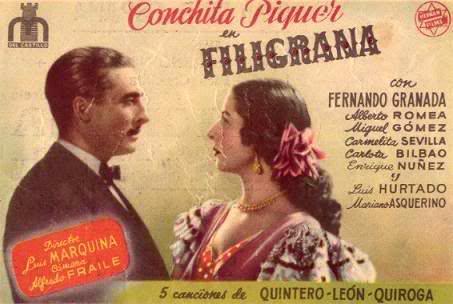 Filigrana Concha Piquer