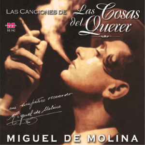CD cover for a compilation of the songs used in the film sung by Miguel de Molina.
